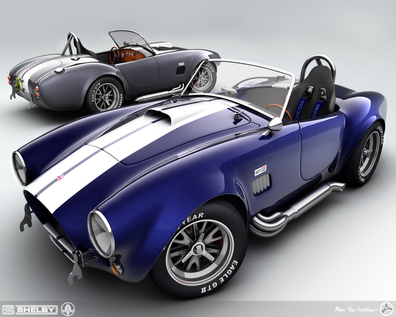 the man cave the shelby cobra. Black Bedroom Furniture Sets. Home Design Ideas