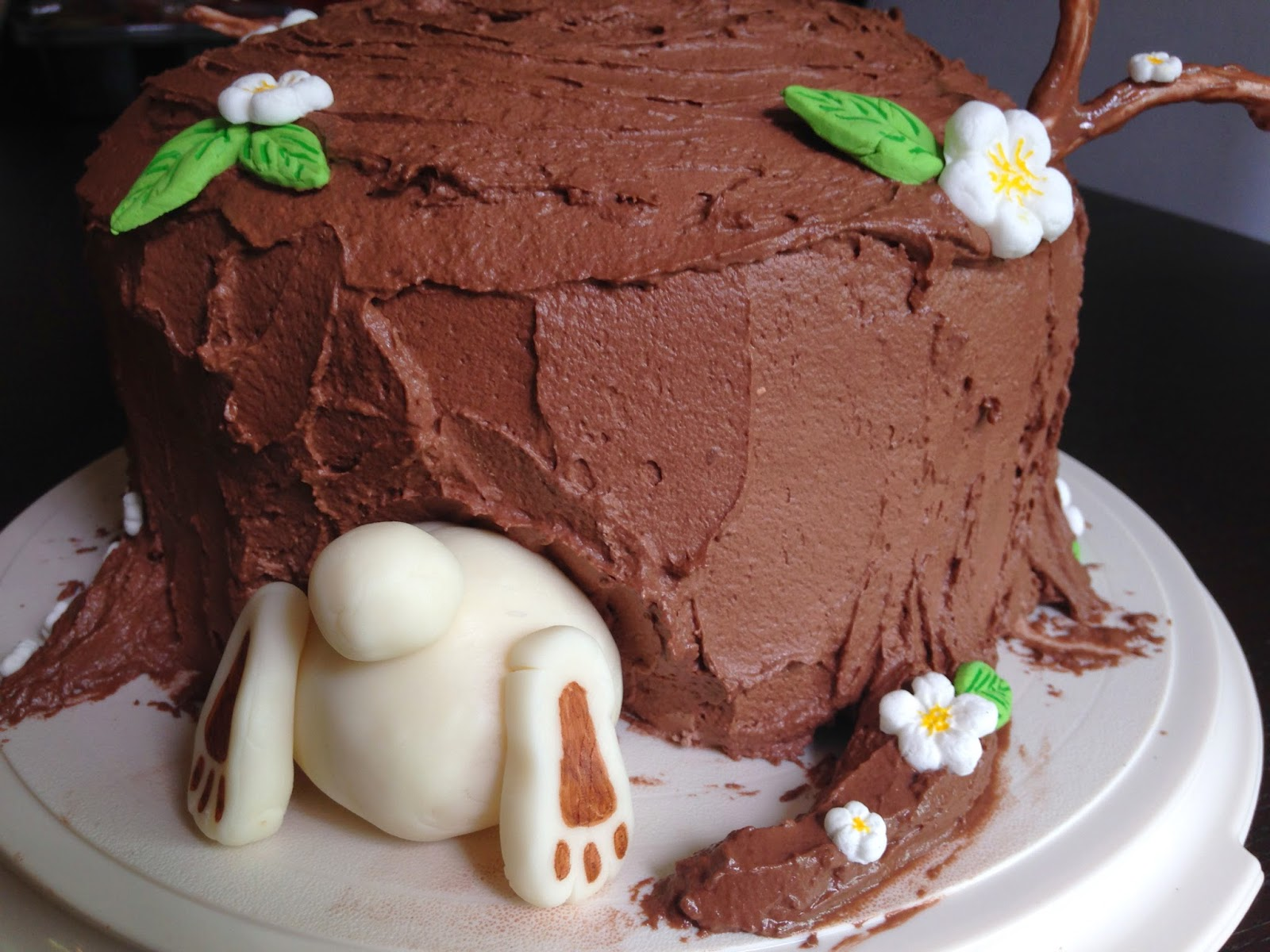 Tansy Dolls The Bunny Butt Cake