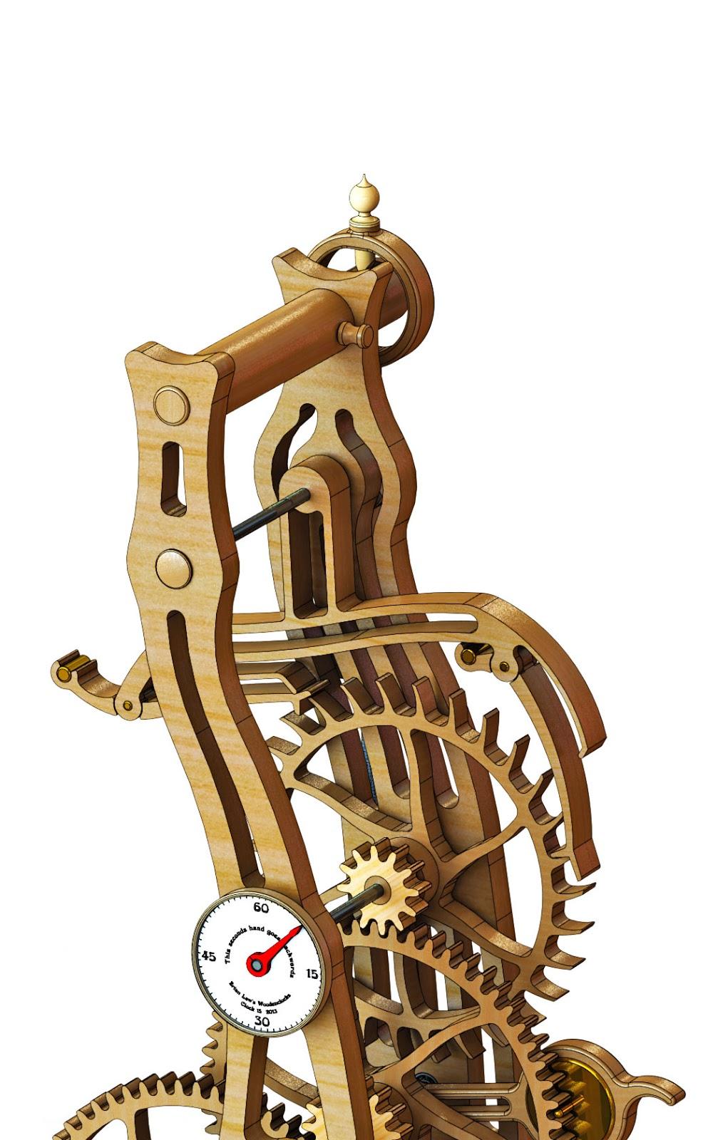 PDF DIY Wood Clock Escapement Design Download wood ...
