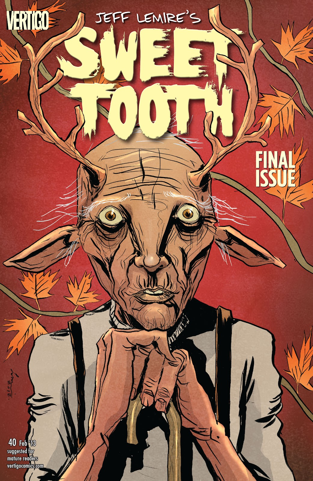 Sweet Tooth issue 40 - Page 1