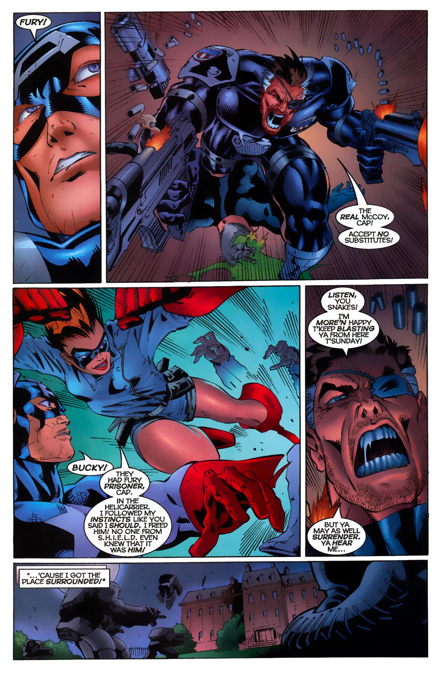 Captain America (1996) Issue #11 #11 - English 19