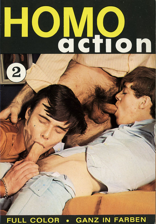 Homo Action 2 Cover Front