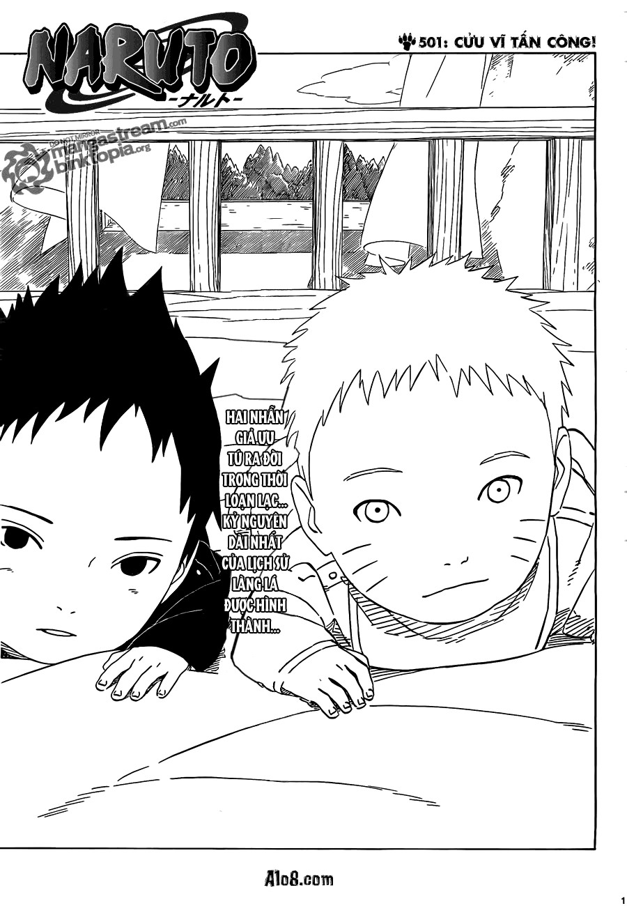 Naruto chap 501 Trang 1 - Mangak.info