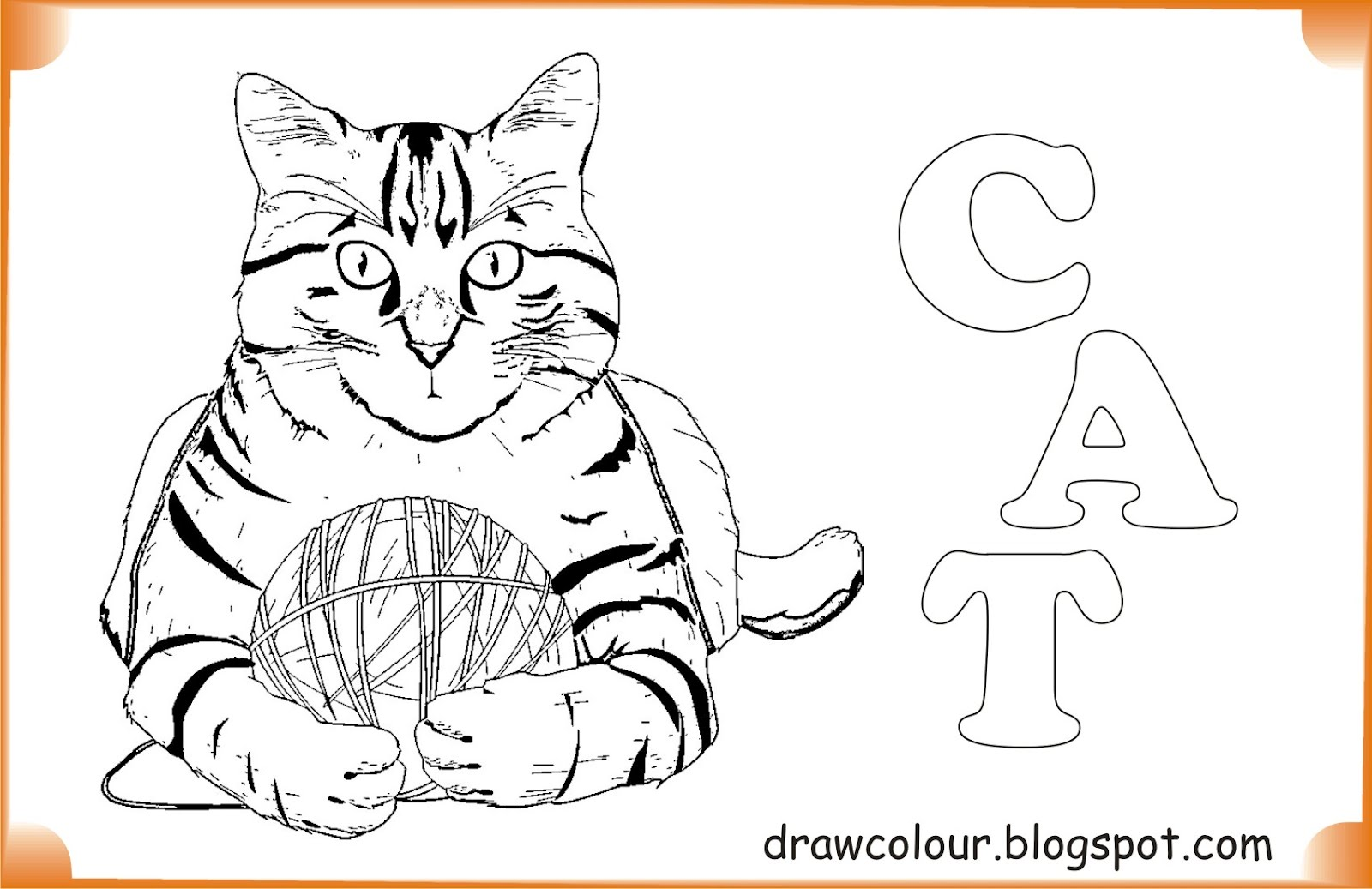 printable-cat-coloring-pages