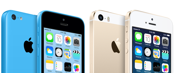 iPhone  5s , iPhone 5c battery life compared to the iPhone 5