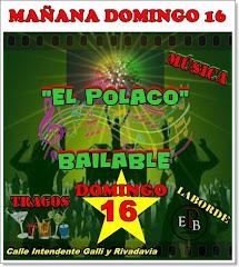 """""""EL POLACO BAILABLE"""" - LABORDE - VIERNES 14"""