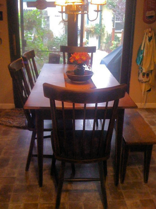 Dining Table Make Primitive Dining Table