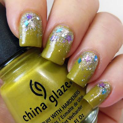 China Glaze Trendsetter glitter gradient