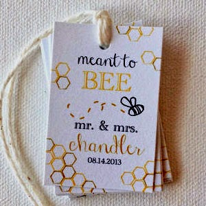 Ma Bicyclette - Buy Handmade - Wedding Planning - Print Smitten - Tags