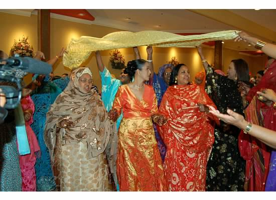Somali wedding- the women\'s party