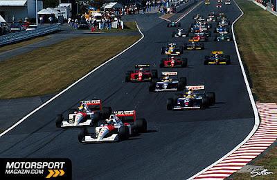 GP do Japão de Formula 1, Suzuka, em 1991 - continental-circus.blogspot.com - by Motor Sport