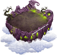 imagen de la sexta isla de dragon city