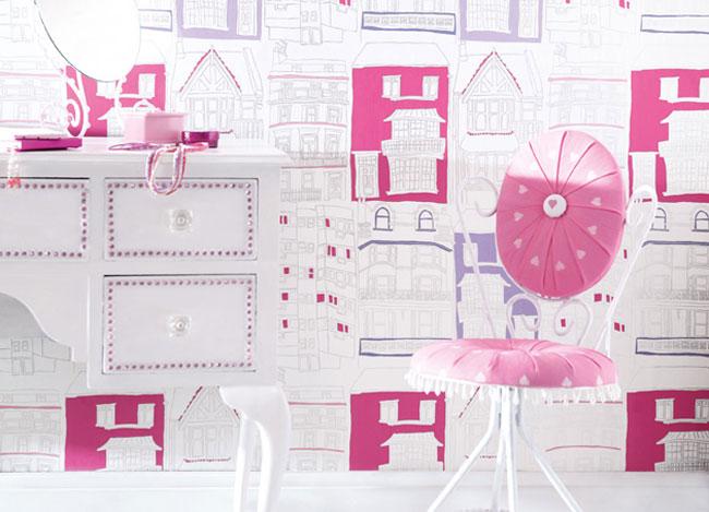 lojas de decoracao de interiores leiria : lojas de decoracao de interiores leiria:colecção infantil de papel de parede e tecido com desenhos