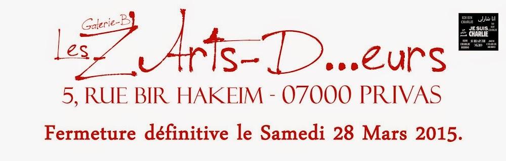Galerie-B Les Z'Arts- D...eurs créateurs réunis à Privas