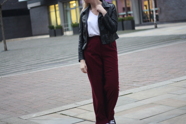 asos wide leg trousers fashion blog
