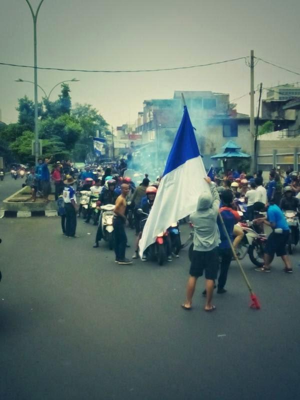 Pawai & Pesta #PersibJuara Berlangsung Meriah (Foto)