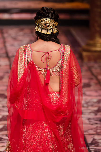 Suneet Varma India Bridal Fashion Week 2013 The Golden Bracelet, Chitrangada Singh as showstopper