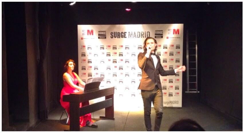 SURGE MADRID 2015 - II Muestra de Creación escénica.