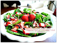 Summer Spinach &amp; Strawberry Salad