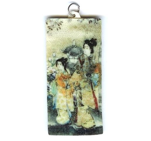 Japanese Women Pendant