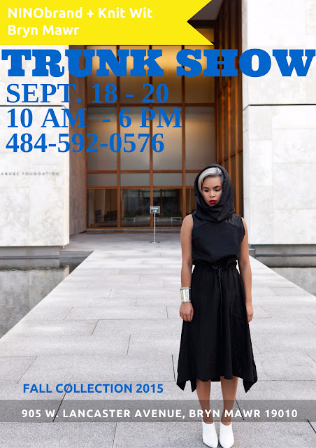 Ninobrand September 2015 Trunk Show