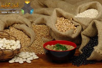 الحبوب مفيدة للشعر, الخبز, الطحين, الأرز للشعر