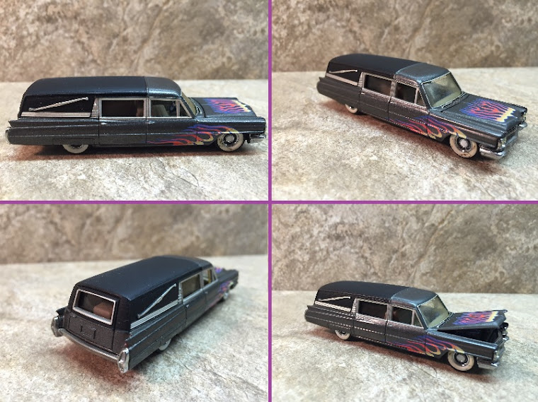 1964 Cadillac Hot Rod Hearse, 1:32nd Scale ~