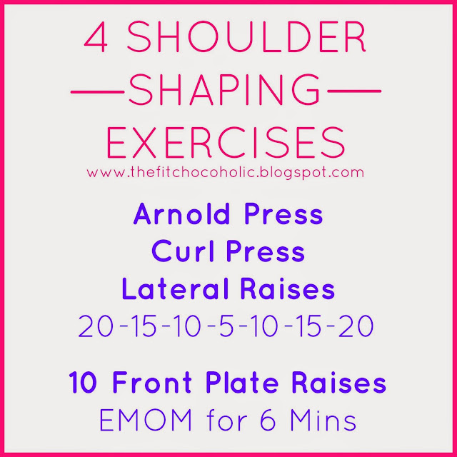 4 Shoulder Shaping Exercises