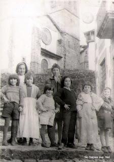 Carnaval de Candelario Salamanca foto de los años 60