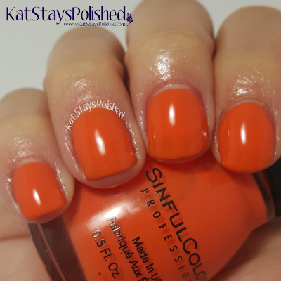 SinfulColors - A Class Act - Feel the Vibe | Kat Stays Polished