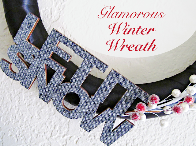Glamorous Winter Wreath @ It's Always Ruetten