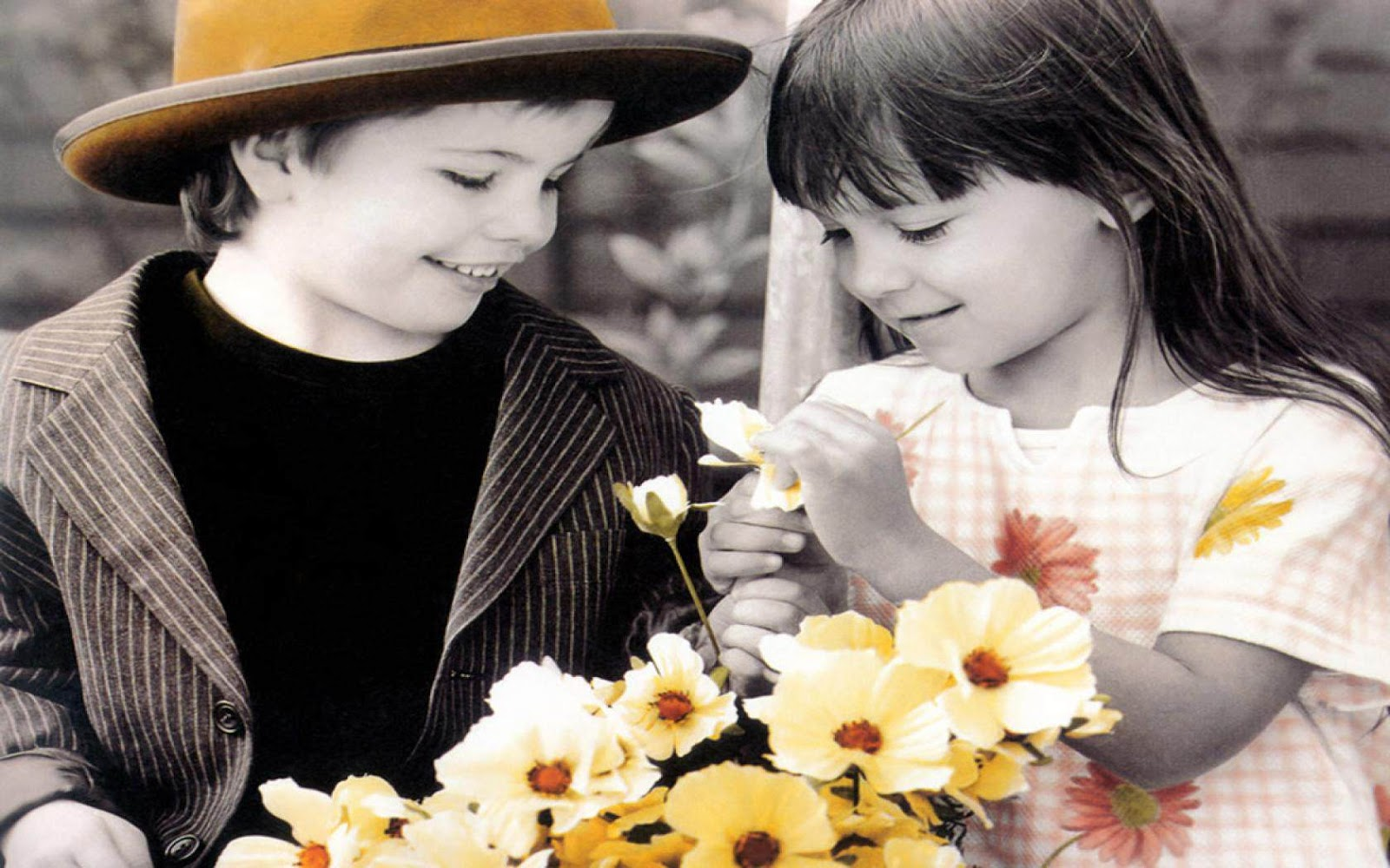 cute kid couple in love hd wallpaper cute little babies Quotes