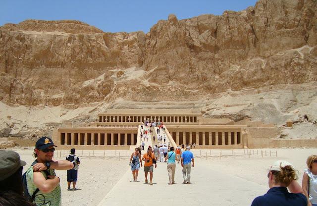 viaje Egipto Egypt templo Hatshepsut