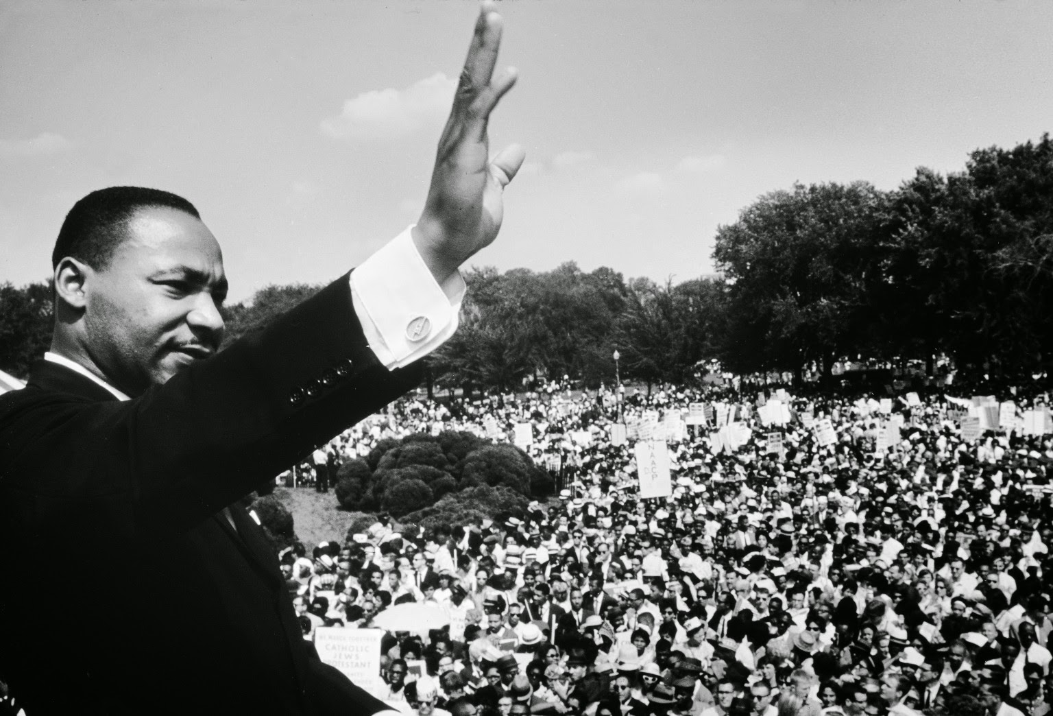 race discrimination is still present in the society years after martin luther king delivered his spe Martin luther king's i have a dream speech text by the manacles of segregation and the chains of discrimination one hundred years i still have a dream.