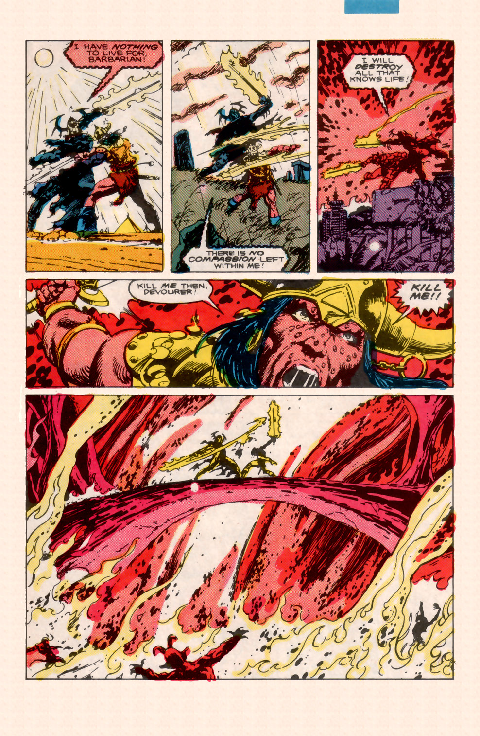 Conan the Barbarian (1970) Issue #200 #212 - English 34