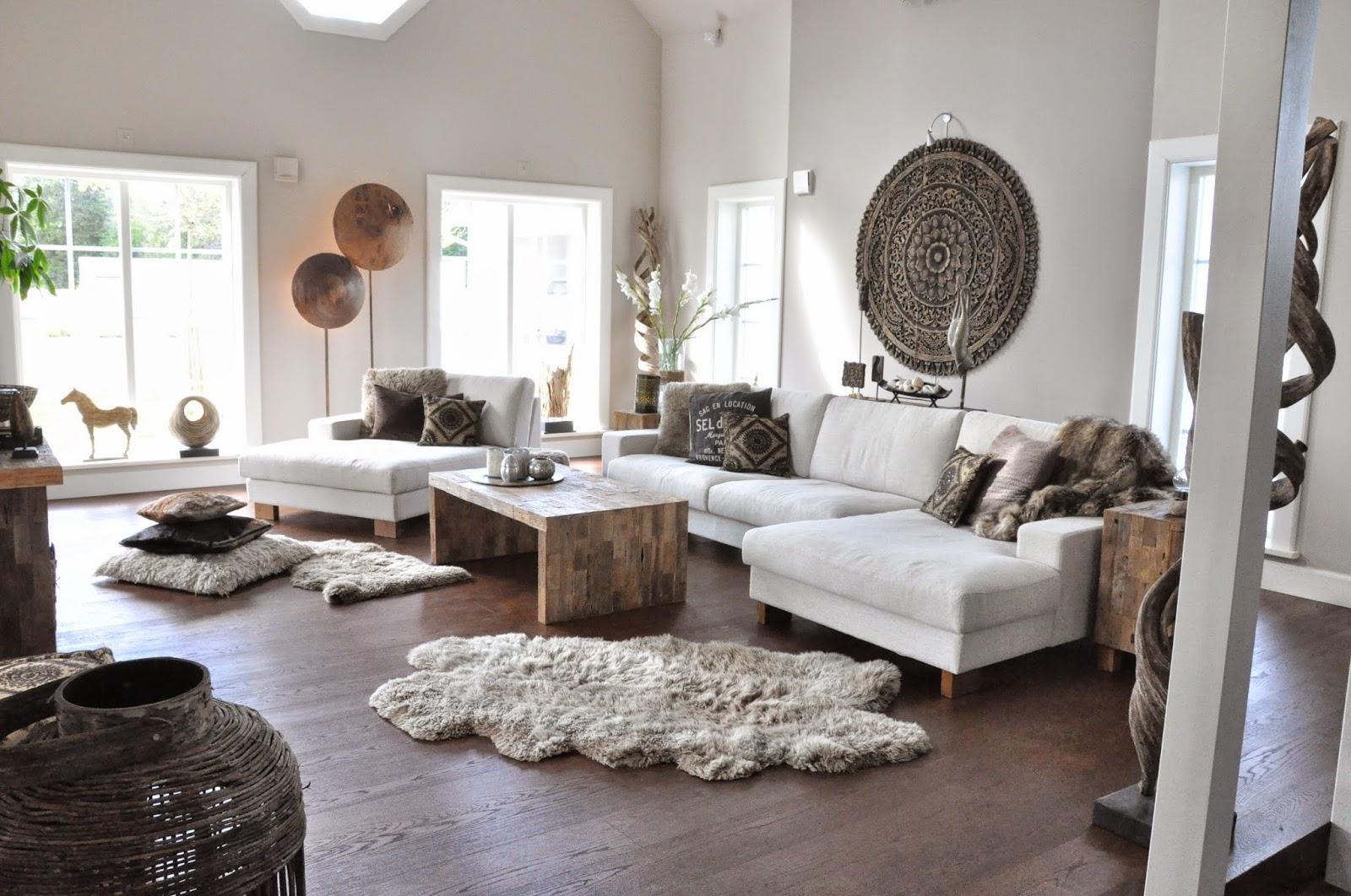 Den vita drömgården: ny soffa   same, same but different