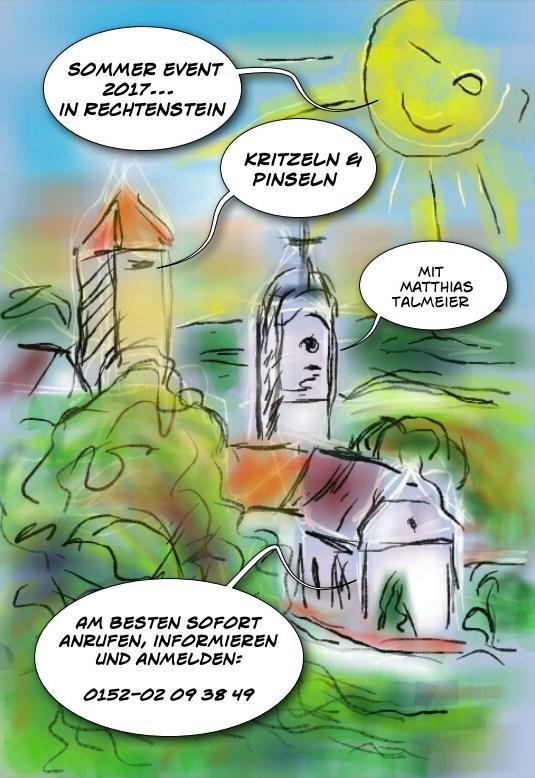 NEU: Kritzeln & Pinseln - Events 2017