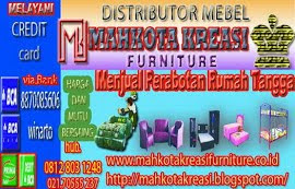 Distributor: mahkota kreasi furniture