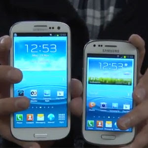 Samsung Galaxy S III vs Samsung Galaxy S III Mini (Hands On)