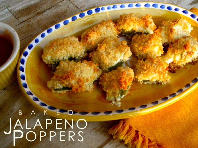 Ginger Rose: Baked Jalapeno Poppers