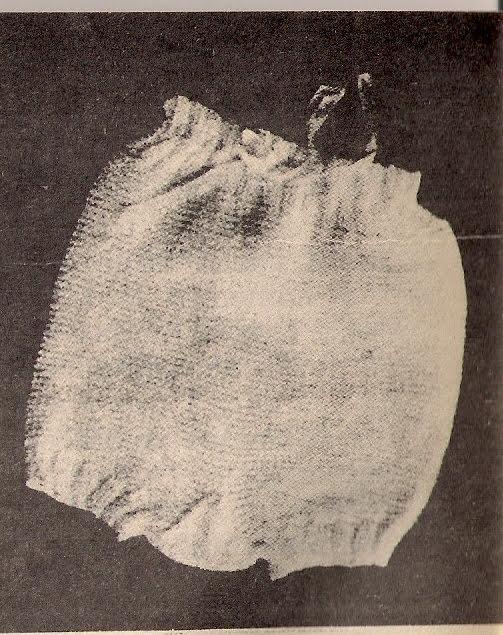 Manualidades entre Amigas: Calzon (bombacha) de lana