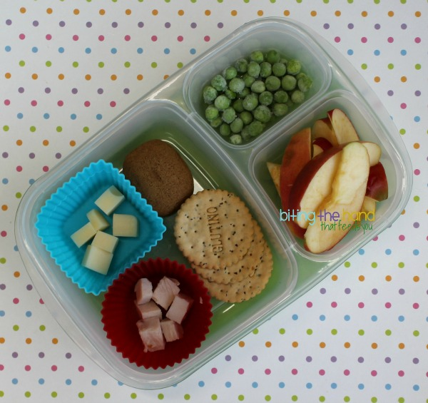 A simple toddler-sized lunch