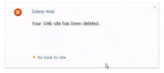 How to Delete a SharePoint Site from SharePoint Site Collection SharePoint 2010