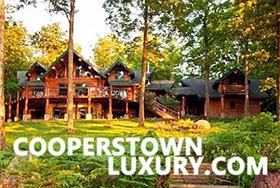 CooperstownLuxury.com - Unique vacation rentals in the heart of the Catskills