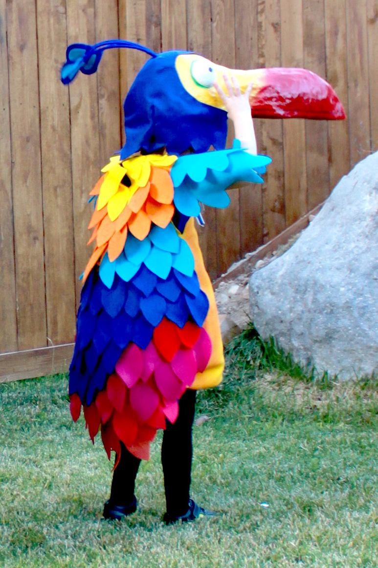 Homemade Bird Costume For Women creatively christy: Ha...