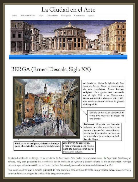 BERGA-PINTURA-CIUDAD-ARTE-CUADROS-PINTOR-ERNEST DESCALS