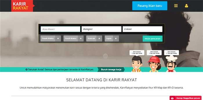 Situs Lowongan Kerja KarirRakyat