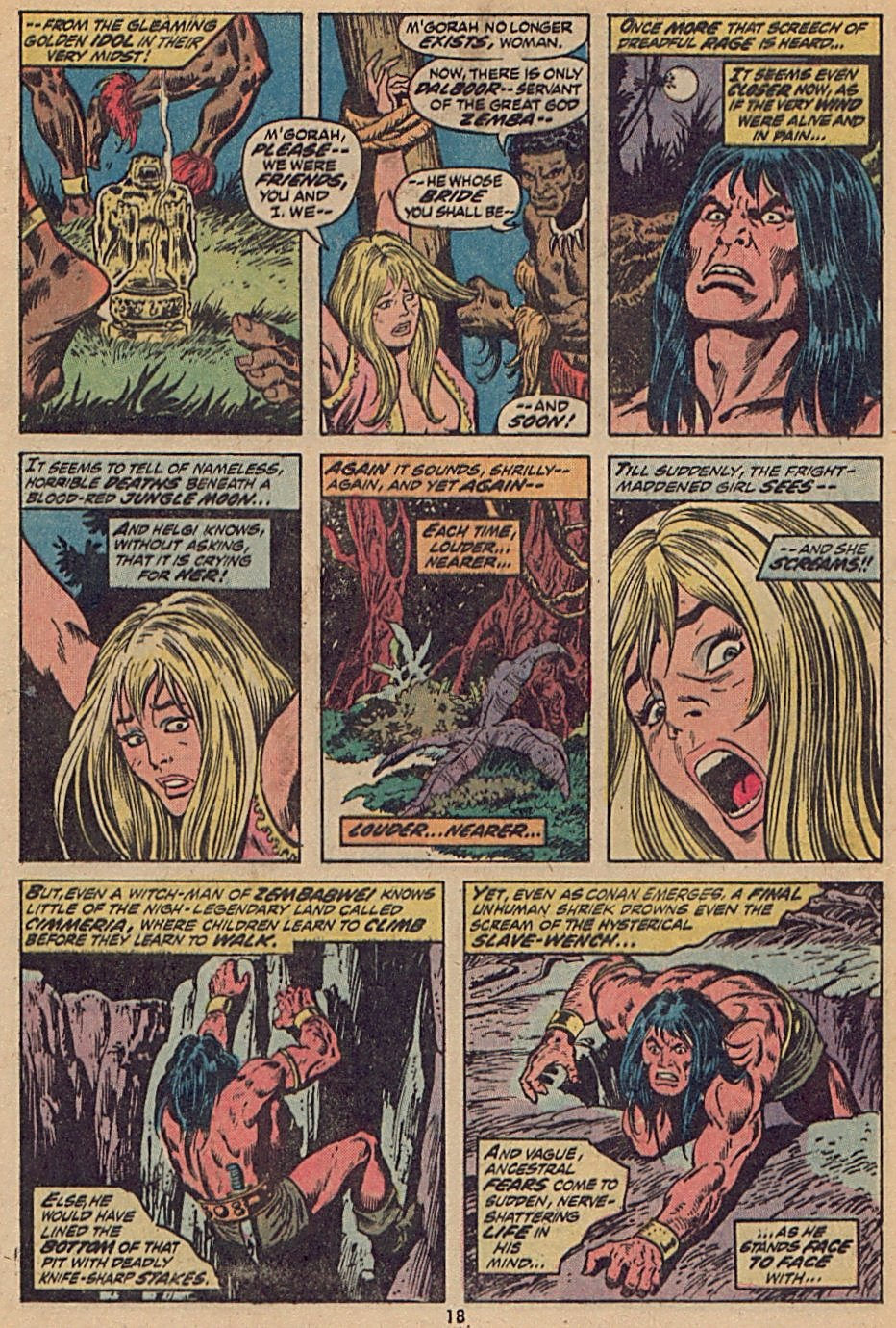 Conan the Barbarian (1970) Issue #28 #40 - English 14