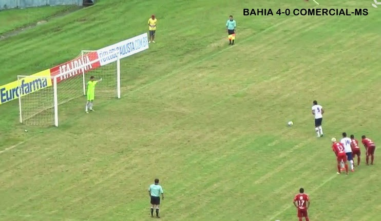 BAHIA 4-0 COMERCIAL-MS