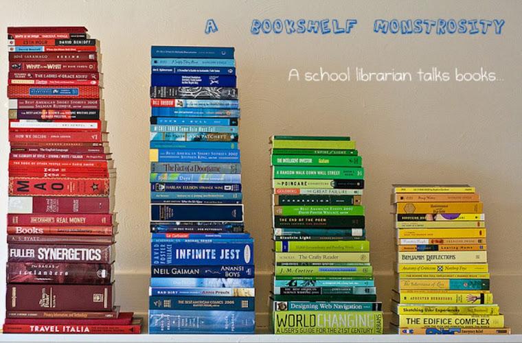 A Bookshelf Monstrosity